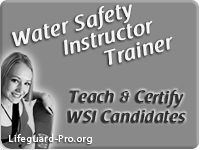 Water Safety Instructor Trainer Certification Courses & WSIT Training Classes